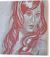 Ayuki Wood Print