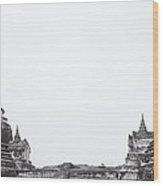 Ayutthaya Wood Print