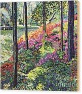 Azalea Forest Grove Wood Print