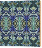Azuraz Candle Tiled Wood Print