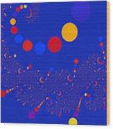 Azure Azzuro Wood Print