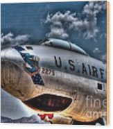 B-47 Stratojet Wood Print
