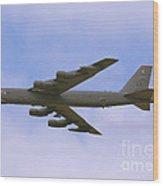 B-52 In Flight Wood Print