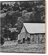 B N W Barn Wood Print