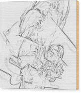 B-w 0567 Wood Print