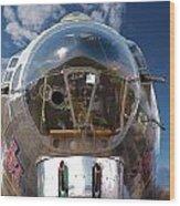 B17 Flying Fortress Wood Print