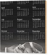 Baby Shoes Calendar 2013 Wood Print