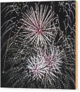 Baby You're A Firework Wood Print