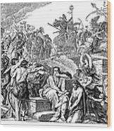 Babylonian Captivity Wood Print by Granger