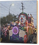 Bacchus In Bokeh Wood Print by Ray Devlin