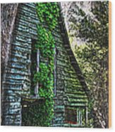 Back To Nature - Crumbling Barn Wood Print