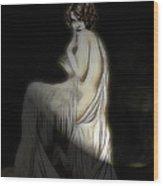Back To The Twenties Wood Print