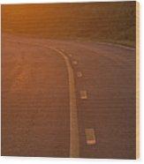 Backroads Of Virginia Wood Print