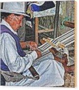 Backstrap Loom - Ecuador Wood Print