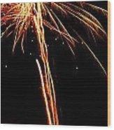 Backyard Fireworks 2012 3 Wood Print