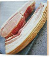 Bacon Wood Print