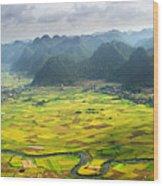 Bacson Valley Wood Print