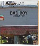Bad Boy 0118 Wood Print
