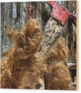 Bad Hair Day Wood Print by JC Findley