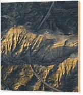 Bad Lands Granada Spain Wood Print