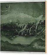 Bad Terrain Wood Print