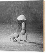 Bad Weather 01 Wood Print