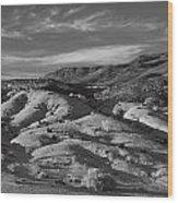 Badlands Wood Print