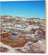 Badlands In The Painted Desert Wood Print