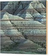 Badlands Splendor Wood Print