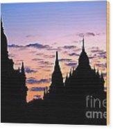 Bagan Wood Print