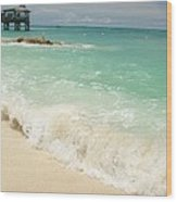 Bahama Waves Wood Print
