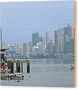Bahia De Panama Wood Print