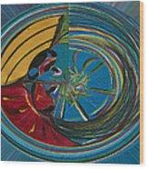 Baianas At The Shore II Wood Print