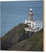 Baily Lighthouse Wood Print