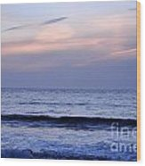 Baker Beach At Sunset Wood Print