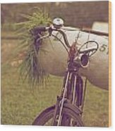 Bali Bike Wood Print
