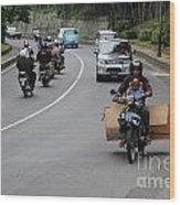 Balinese Transportation Wood Print