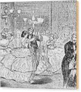 Ball, 1858 Wood Print by Granger