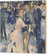 Ball At The Moulin De La Galette Wood Print