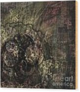 Balled Up Wood Print by Monroe Snook