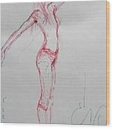 Ballerina 8048 Wood Print