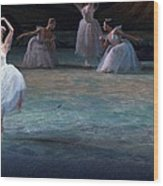 Ballerinas At The Vaganova Academy Wood Print