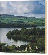 Ballindoon Abbey, Lough Arrow, Co Wood Print