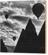Ballons - 2 Wood Print