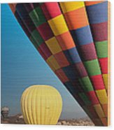 Ballons - 3 Wood Print by Okan YILMAZ