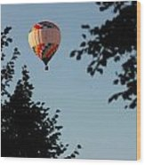 Balloon-7081 Wood Print