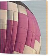 Balloon-purple-7462 Wood Print