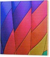 Balloon Rainbow Take 2 Wood Print