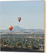 Balloons Over Madras Wood Print