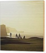 Ballycastle Golf Club, Co Antrim Wood Print